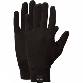Rab Silkwarm Gloves Black
