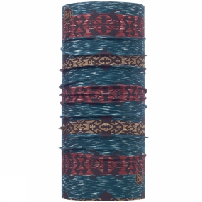Buff High UV Protection Buff Patterned Shade Deepteal Blue