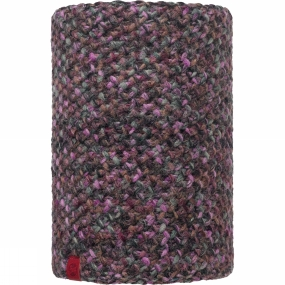 Buff Knitted and Polar Fleece Neckwarmer Patterned