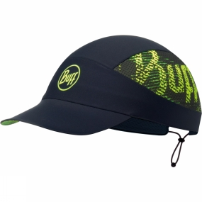 Buff Buff Pack Run Cap R-Flash Logo Black