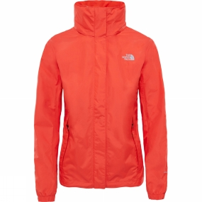 The North Face The North Face Womens Resolve Jacket Fire Brick Red/Fire Brick Red