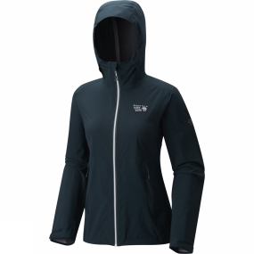 Mountain Hardwear Mountain Hardwear Women's Stretch Ozonic Jacket Blue Spruce