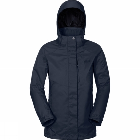 Jack Wolfskin Jack Wolfskin Womens Mellow Range Flex Jacket Midnight Blue