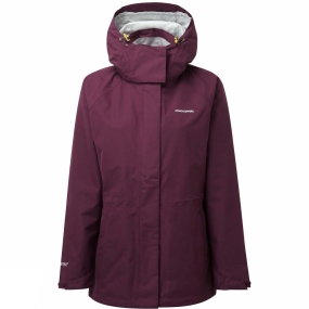 Craghoppers Craghoppers Womens Marissa IA Jacket Dark Rioja Red