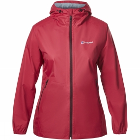 Berghaus Berghaus Womens Deluge Light Jacket Dark Cerise