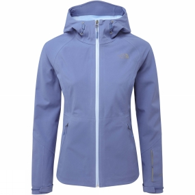 The North Face The North Face Womens Apex Flex Shell Jacket Coastal Fjord Blue