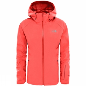 The North Face The North Face Womens Apex Flex Shell Jacket Cayenne Red