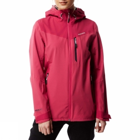 Craghoppers Craghoppers Womens Discovery Adventures Stretch Jacket Electric Pnk