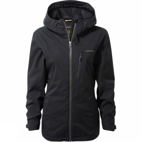Craghoppers Craghoppers Womens Midas Gore-Tex Jacket Black