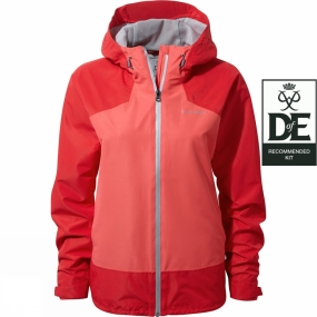 Craghoppers Craghoppers Womens Apex Jacket Fiesta Red