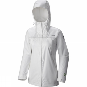 Columbia Columbia Womens OutDry Ex Eco Shell Jacket White Undyed