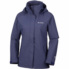 Columbia Columbia Womens Trestle Trail Hooded Jacket Nocturnal