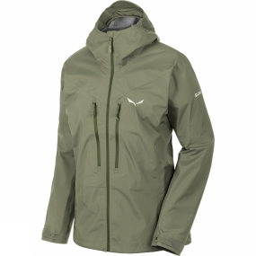 Salewa Salewa Womens Pedroc GTX Active Jacket Oil Green