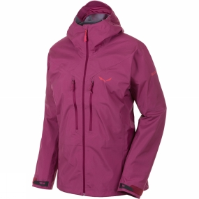 Salewa Salewa Womens Pedroc GTX Active Jacket Red Onion