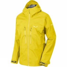 Salewa Salewa Womens Pedroc GTX Active Jacket Kamille Yellow