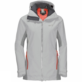 Jack Wolfskin Jack Wolfskin Womens Colorado Flex Jacket Grey Haze