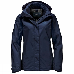 Jack Wolfskin Jack Wolfskin Womens The Esmeraldas Jacket Midnight Blue