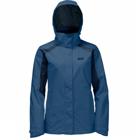 Jack Wolfskin Jack Wolfskin Womens The Esmeraldas Jacket Ocean Wave