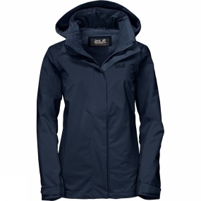 Jack Wolfskin Jack Wolfskin Womens Highland Jacket Midnight Blue