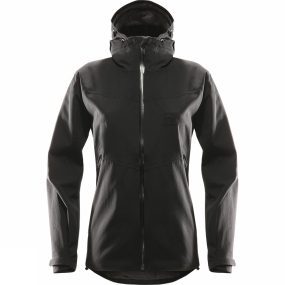 Haglofs Haglofs Womens Tourus Jacket True Black