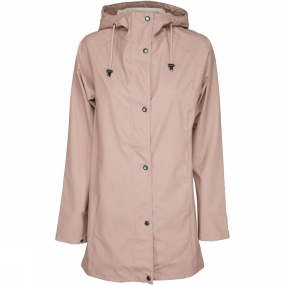 Ilse Jacobsen Ilse Jacobsen Womens Rain87 Rain Coat Adobe Rose