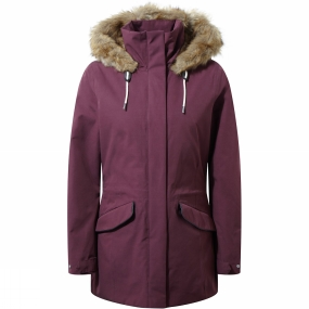 Craghoppers Craghoppers Womens Josefine Jacket Winterberry