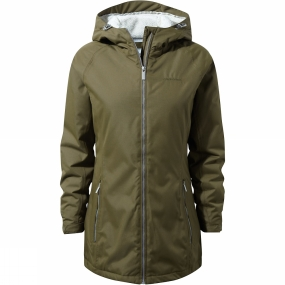 Craghoppers Craghoppers Womens Madigan Classic Thermic II Jacket Dark Moss