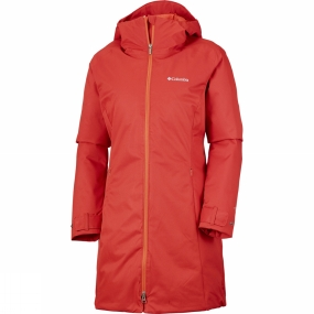 Columbia Columbia Womens Autumn Rise Mid Jacket Sail Red