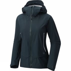 Mountain Hardwear Mountain Hardwear Womens Superforma Jacket Blue Spruce