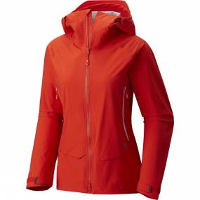 Mountain Hardwear Mountain Hardwear Womens Superforma Jacket Fiery Red