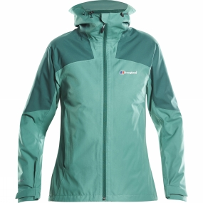 Berghaus Berghaus Womens Fellmaster Jacket Bottle Green/Posy Green