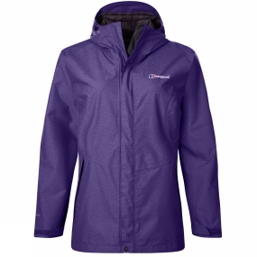Berghaus Berghaus Womens Elara Jacket Dark Tillandsia Purple Marl