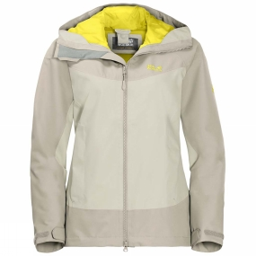 Jack Wolfskin Jack Wolfskin Womens North Ridge Jacket White Sand