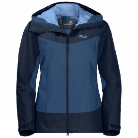 Jack Wolfskin Jack Wolfskin Womens North Ridge Jacket Ocean Wave