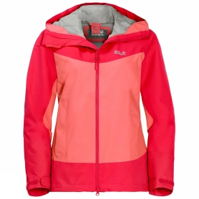 Jack Wolfskin Jack Wolfskin Womens North Ridge Jacket Flamingo