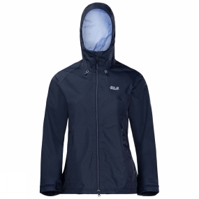 Jack Wolfskin Jack Wolfskin Womens Arroyo Jacket Midnight Blue
