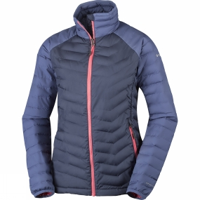 Columbia Columbia Womens Powder Lite Jacket Nocturnal / Bluebell
