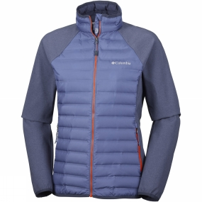 Columbia Columbia Womens Flash Forward Hybrid Jacket Bluebell / Nocturnal