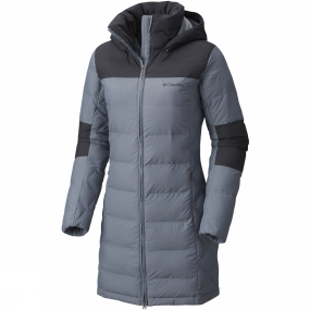 Columbia Columbia Womens Cold Fighter Mid Jacket Grey Ash / Shark