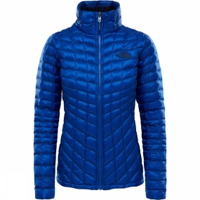 The North Face The North Face Womens Thermoball Zip In Jacket Sodalite Blue