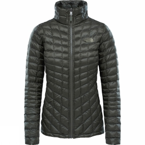 The North Face The North Face Womens Thermoball Zip In Jacket Grape Leaf