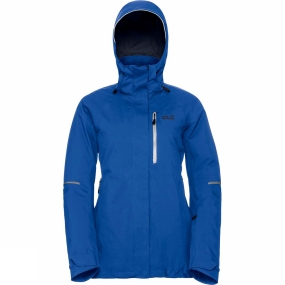 Jack Wolfskin Jack Wolfskin Womens Exolight Icy Jacket Coastal Blue