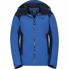 Jack Wolfskin Jack Wolfskin Womens Exolight Base Jacket Coastal Blue
