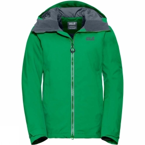 Jack Wolfskin Jack Wolfskin Womens Exolight Base Jacket Evergreen