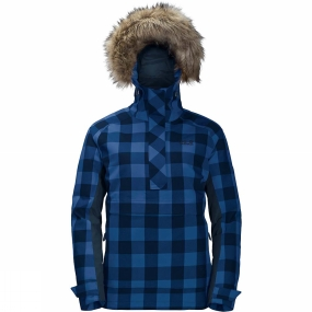 Jack Wolfskin Jack Wolfskin Womens Timberwolf Smock Midnight Blue Checks