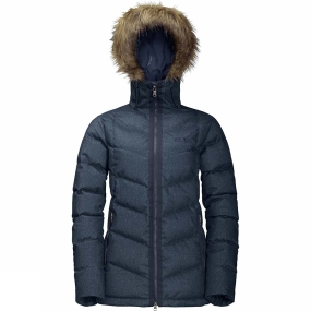 Jack Wolfskin Jack Wolfskin Womens Baffin Bay Jacket Night Blue