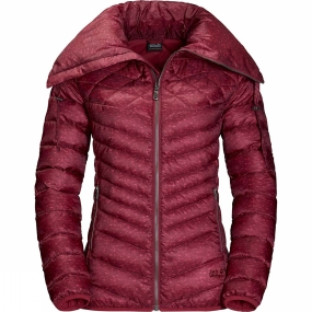 Jack Wolfskin Jack Wolfskin Womens Richmond Hill Jacket Dark Red