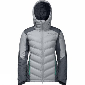 Jack Wolfskin Jack Wolfskin Womens Exolight Down Jacket Slate Grey