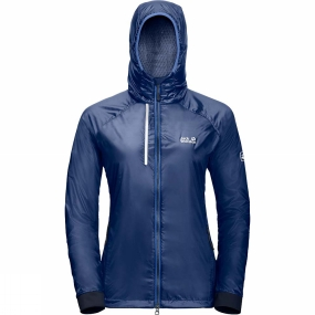 Jack Wolfskin Jack Wolfskin Womens Air Lock Jacket Royal Blue