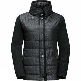 Jack Wolfskin Jack Wolfskin Womens Clarington Jacket Black All Over